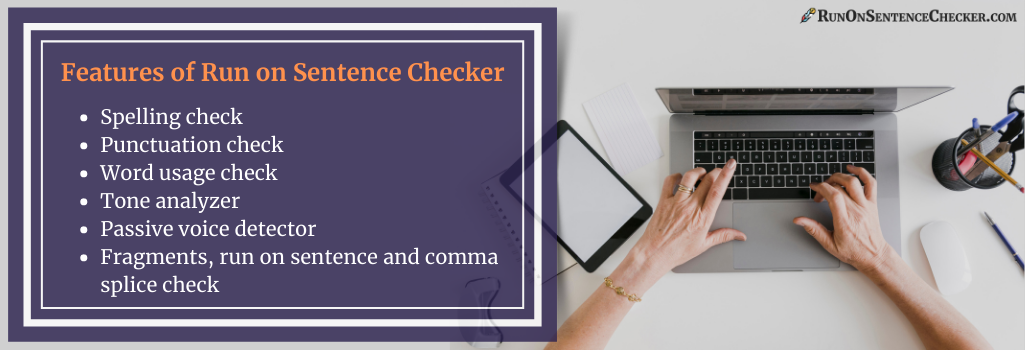 features of run on checker